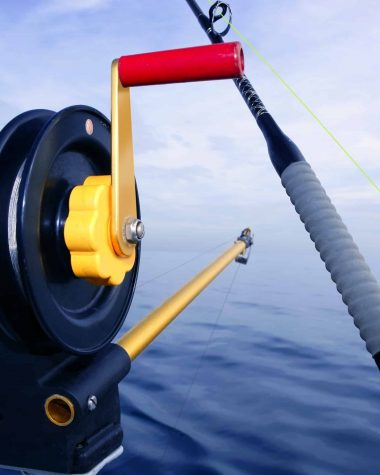 fishing with lead core line