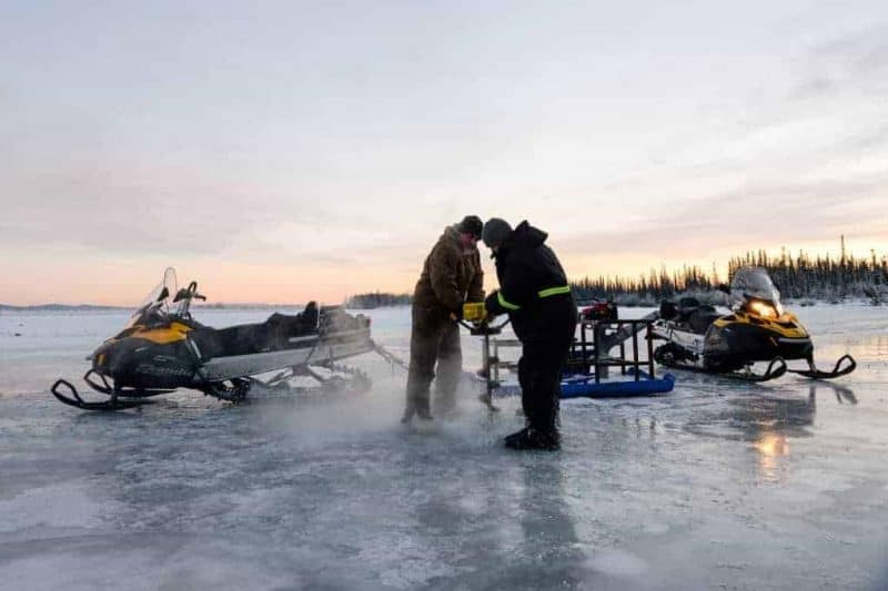 Ice Fishing Equipment Needed To Get Started in 2020 - iceauger