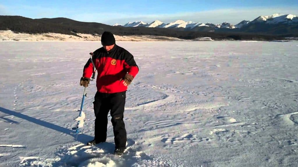 best manual ice auger