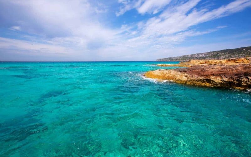 Turquoise Sea at Balearic Islands - Diving In Spain