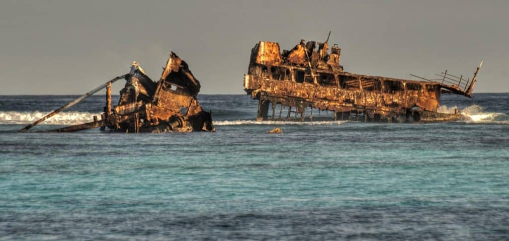 Dive Astron Wreck In Punta Cana