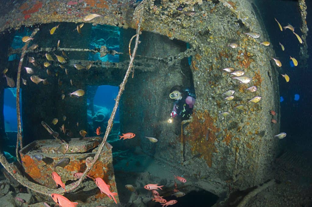 What Is Wreck Diving And How Can You Get Started - Wreck Diver SS Thistlegorm